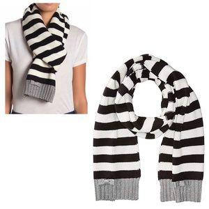 ♠️ Kate Spade Bold Stripe Muffler Scarf NWT